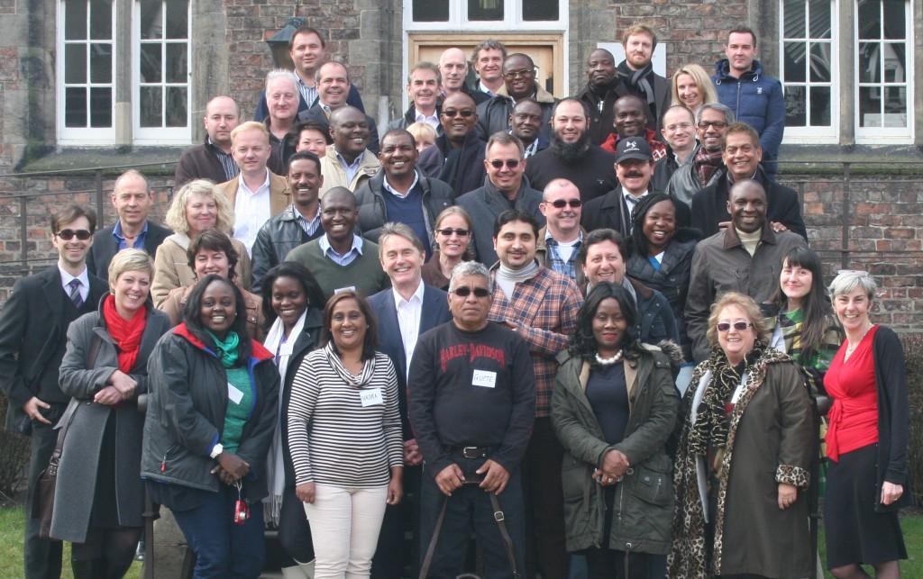 A happy bunch - April 2013 residency in York