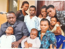 Pius and his family
