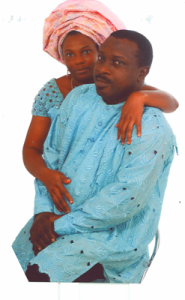 Pius and wife