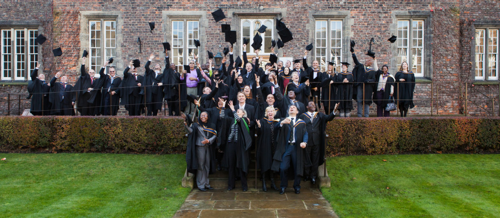 Graduation 2013, hats off! - photo courtesy of York St John University