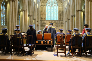 Graduation in the Minster