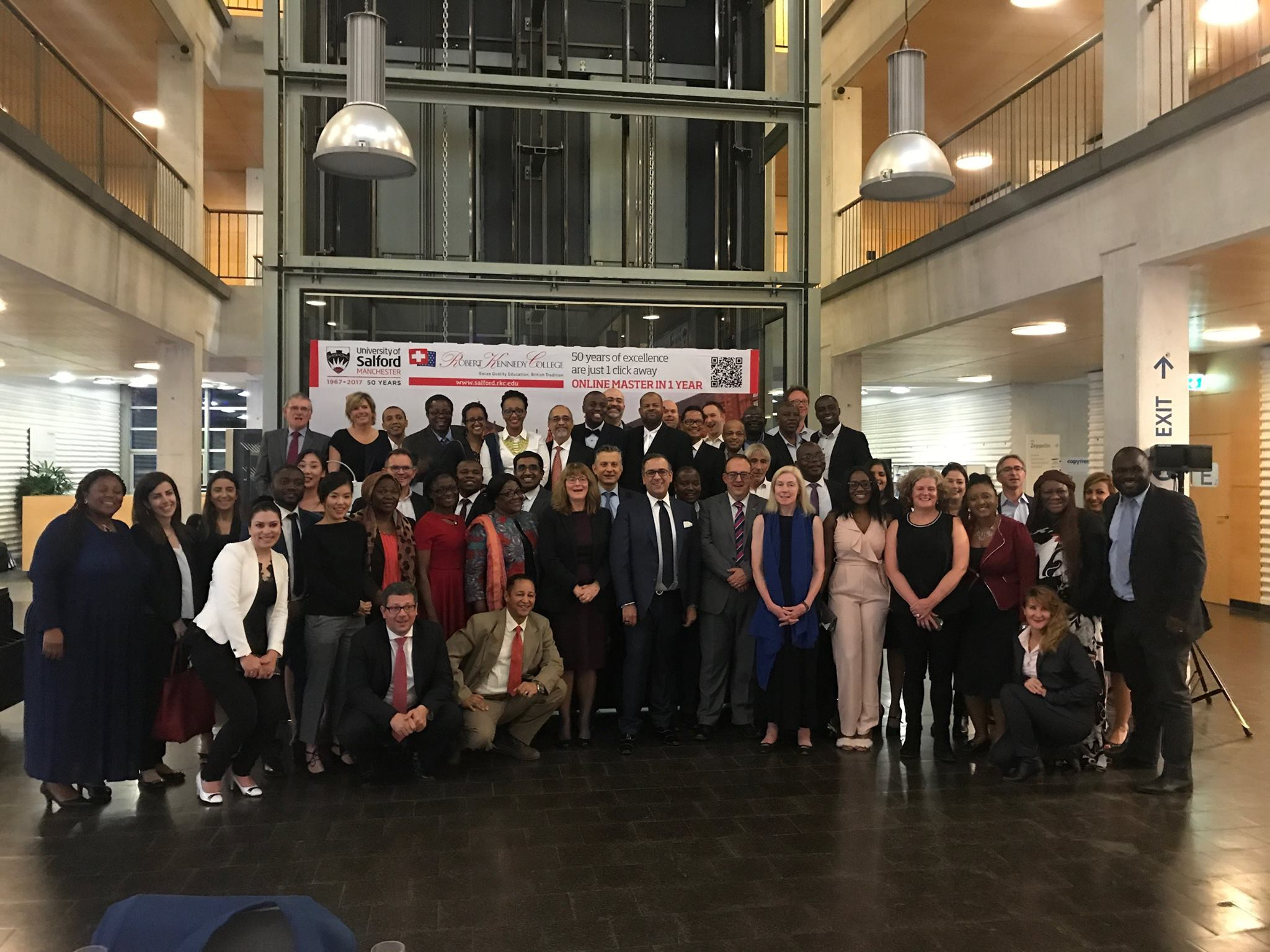 Celebrating 50 years of University of Salford