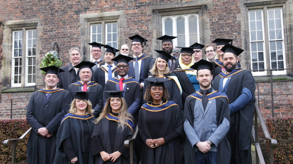 Group photo of RKC 2018 Graduation @YorkStJohn in the Quadrangle